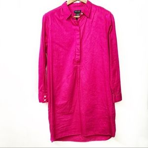 Lord and Taylor Pink Large Tunic Dress